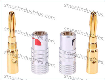 4mm Gold Plated Banana Plugs