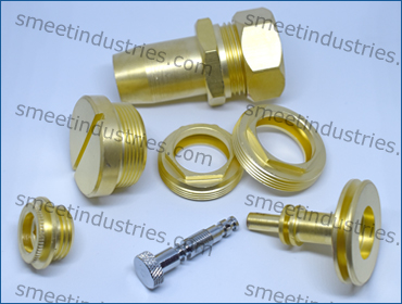 Brass Machined  Turned Parts
